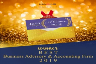 MAGAS wins MEA Markets - UAE Business Awards