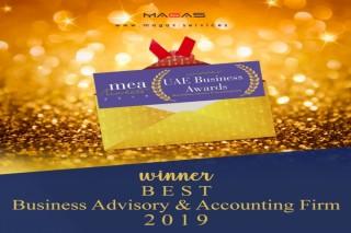 MAGAS wins MEA Markets - UAE Business Awards